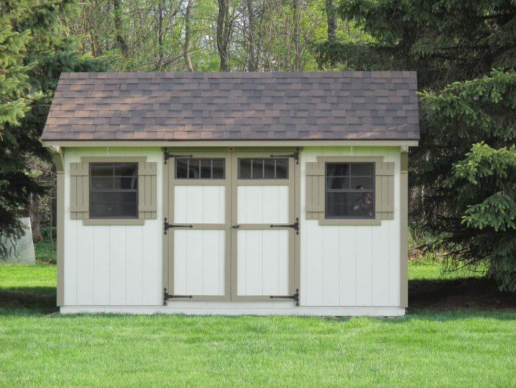 10 X 14 Carriage House Painted