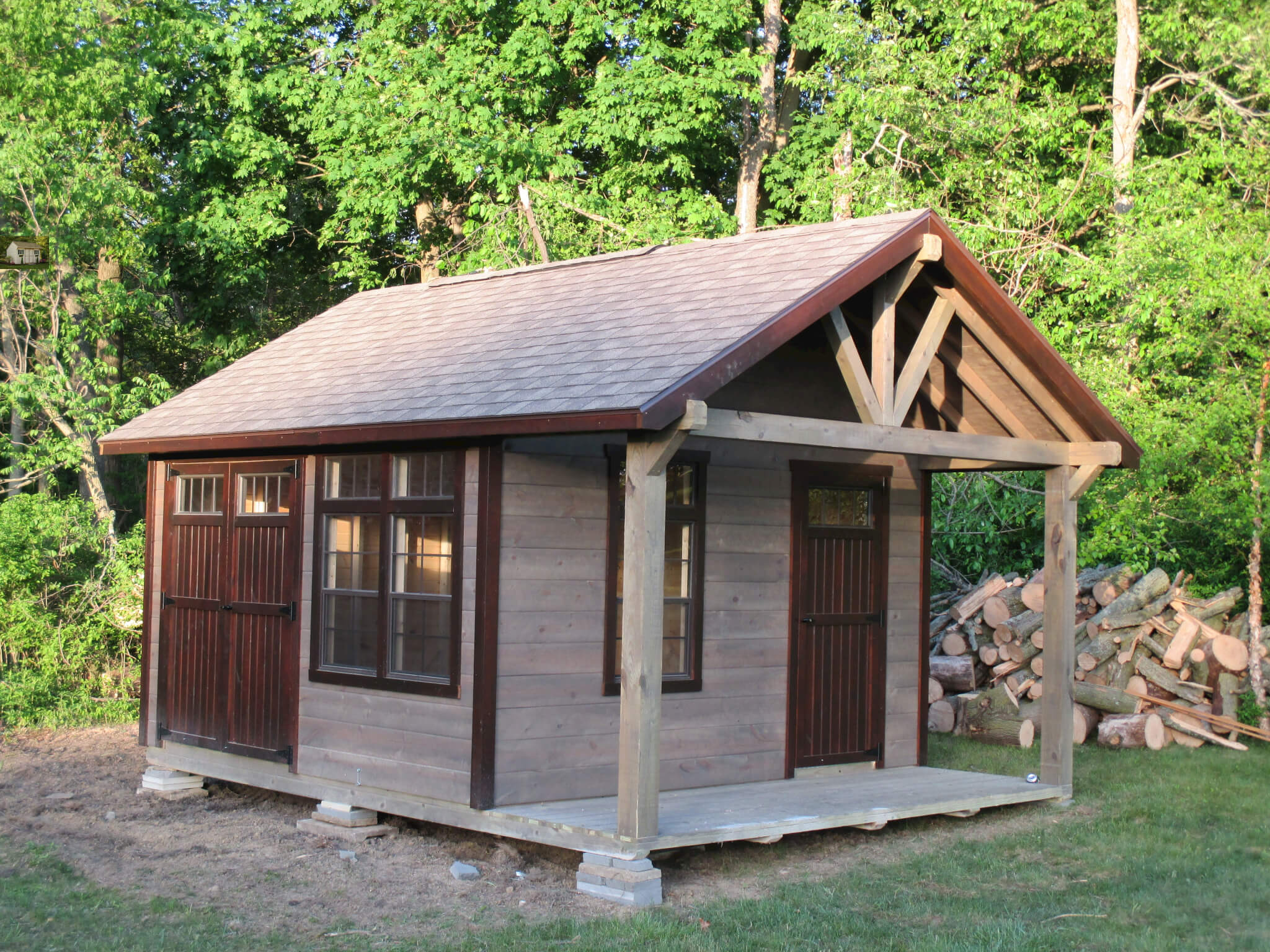 The Challenger Is A Portable Rustic Building 183 Hostetler