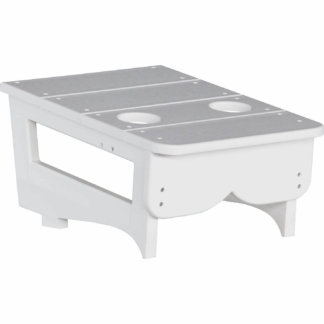 LuxCraft Poly Center Table White