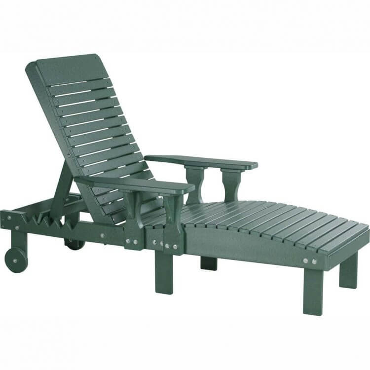 LuxCraft Poly Lounge Chair Green