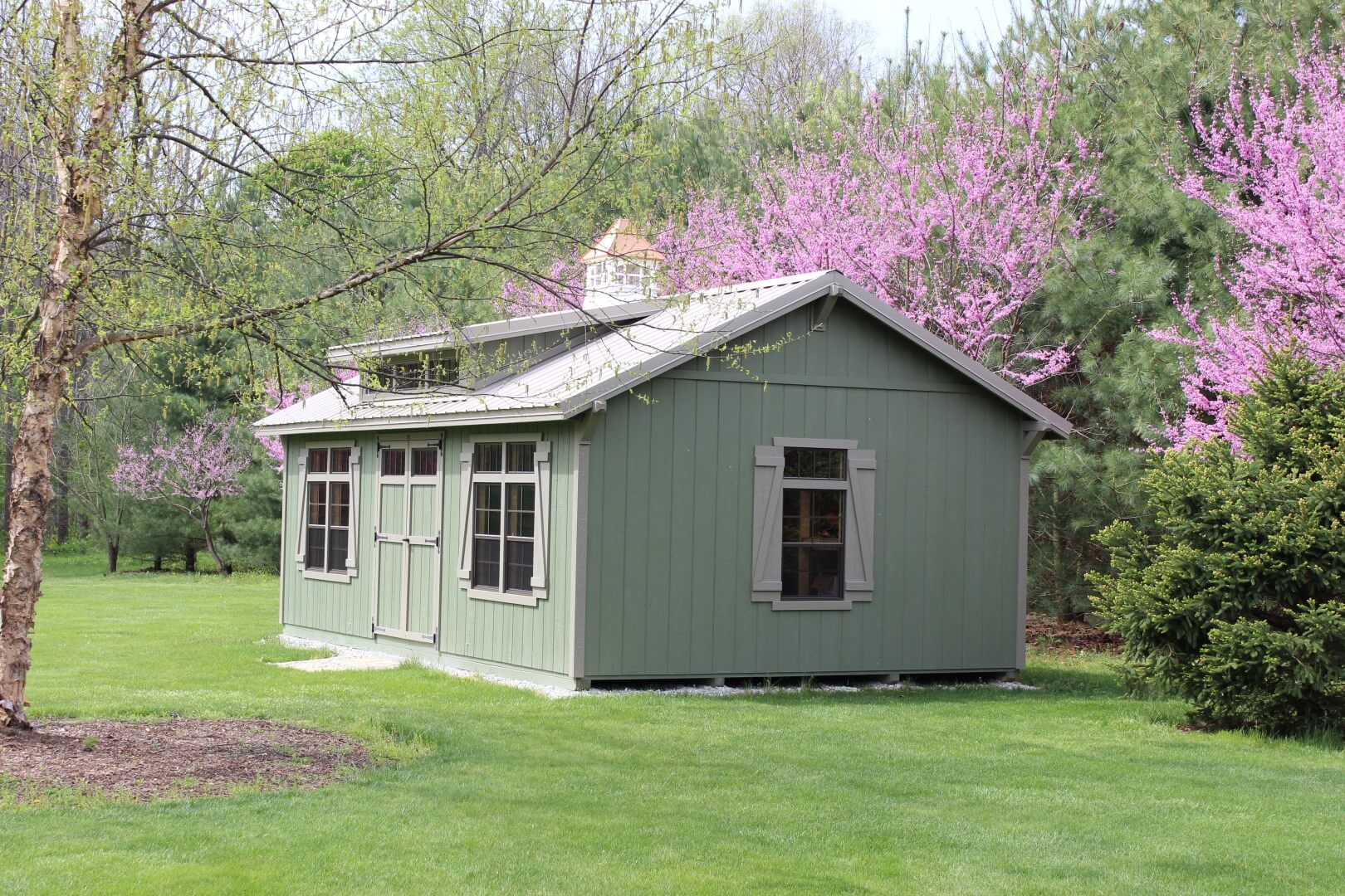 Garden Sheds Indiana garden barns & sheds · hostetler's furniture