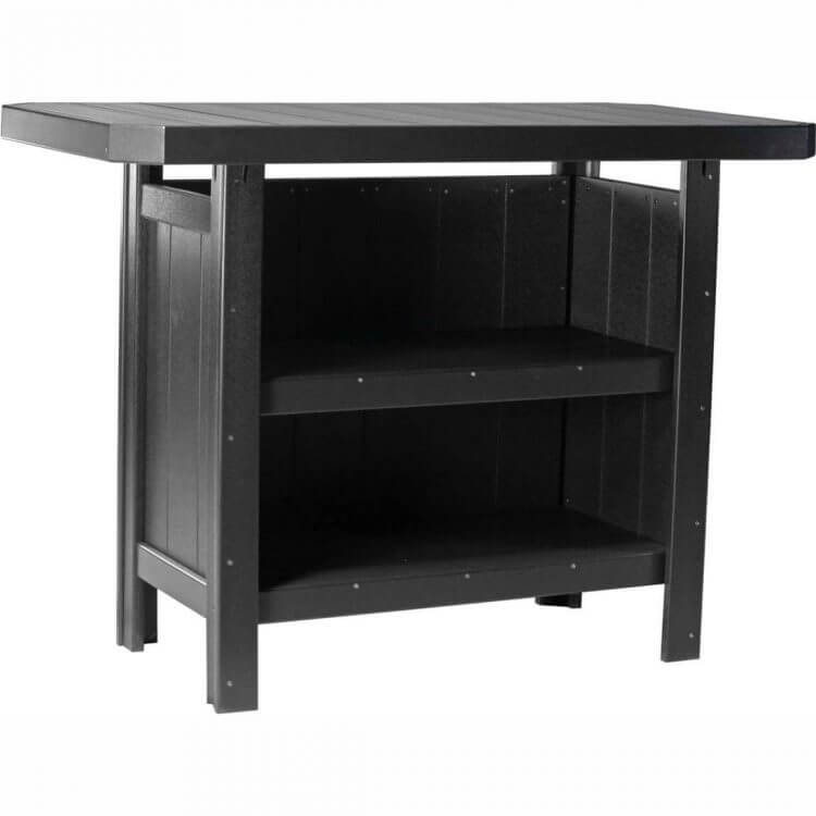 LuxCraft Poly Serving Bar Black