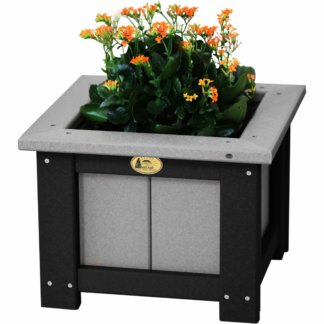 Poly Flower Planters & Trash Cans