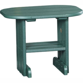 LuxCraft Poly End Table Green