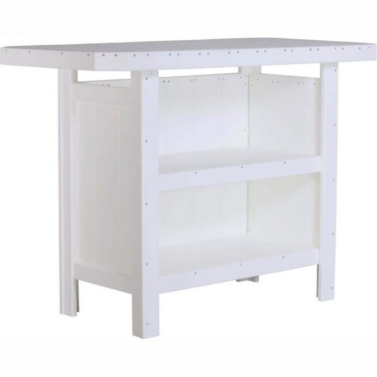 LuxCraft Poly Serving Bar White