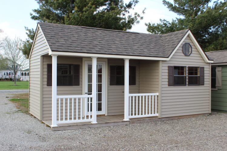 The Chalet With Porch 10x20