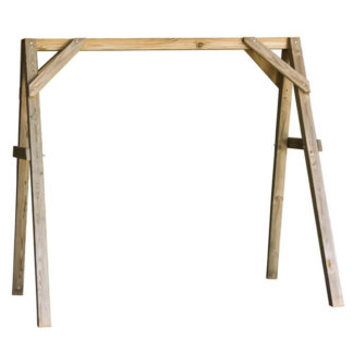 LuxCraft Wood A-Frame Swing Stand