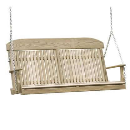 LuxCraft Wood Classic Swing 5'