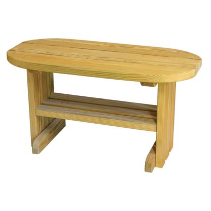 LuxCraft Wood Coffee Table