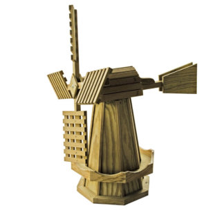 LuxCraft Wood Dutch Windmill Large
