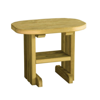 LuxCraft Wood End Table