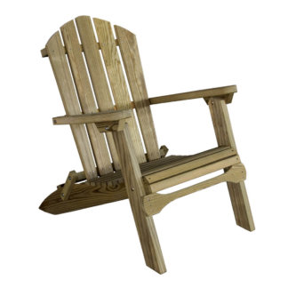 LuxCraft Wood Folding Adirondack Chair