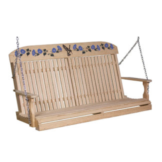 LuxCraft Wood Hummingbird Swing 5'