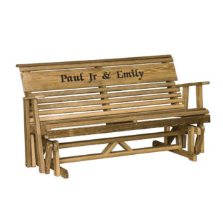 LuxCraft Wood Personalized Glider 5'