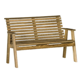 LuxCraft Wood Plain Bench 4'
