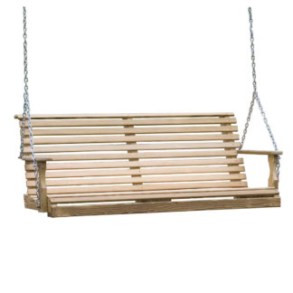 LuxCraft Wood Plain Swing 5'