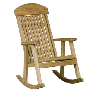 LuxCraft Wood Porch Rocker