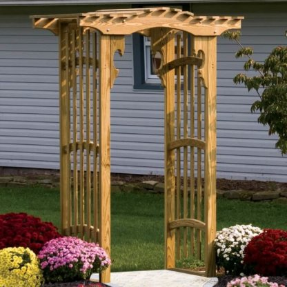 LuxCraft Wood Side Walk Arbor