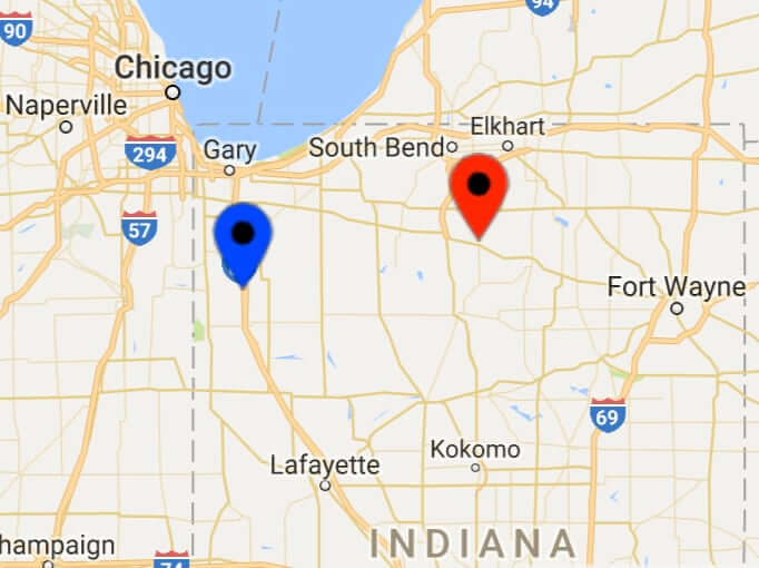 Hostetler's Lawn Furniture Locations